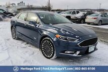 2018 Ford Fusion Energi Titanium South Burlington VT