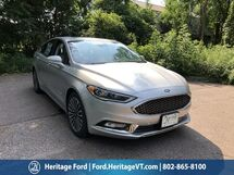 2018 Ford Fusion Hybrid Platinum South Burlington VT