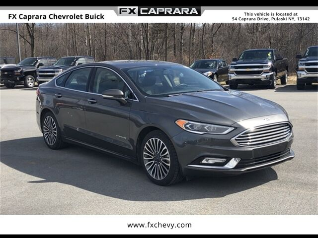 2018 Ford Fusion Hybrid Platinum Watertown NY
