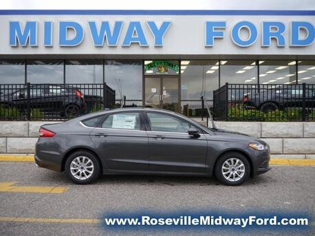 2018_Ford_Fusion_S_ Roseville MN