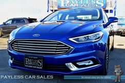 2018_Ford_Fusion_Titanium / AWD / 2.0L Ecoboost / Automatic / Power & Heated Leather Seats / Sunroof / Auto Start / Back Up Camera / Sony Speakers / Microsoft Sync Bluetooth / 29 MPG / 1-Owner_ Anchorage AK