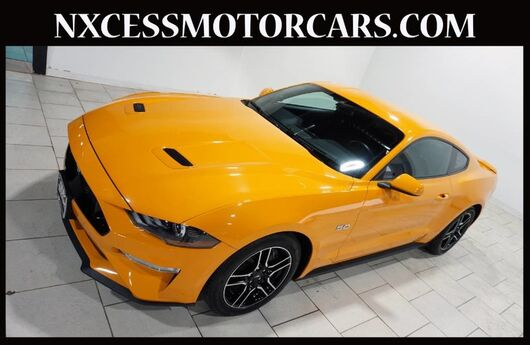 2018 Ford Mustang GT 5.0 AUTOMATIC 1-OWNER WARRANTY. Houston TX