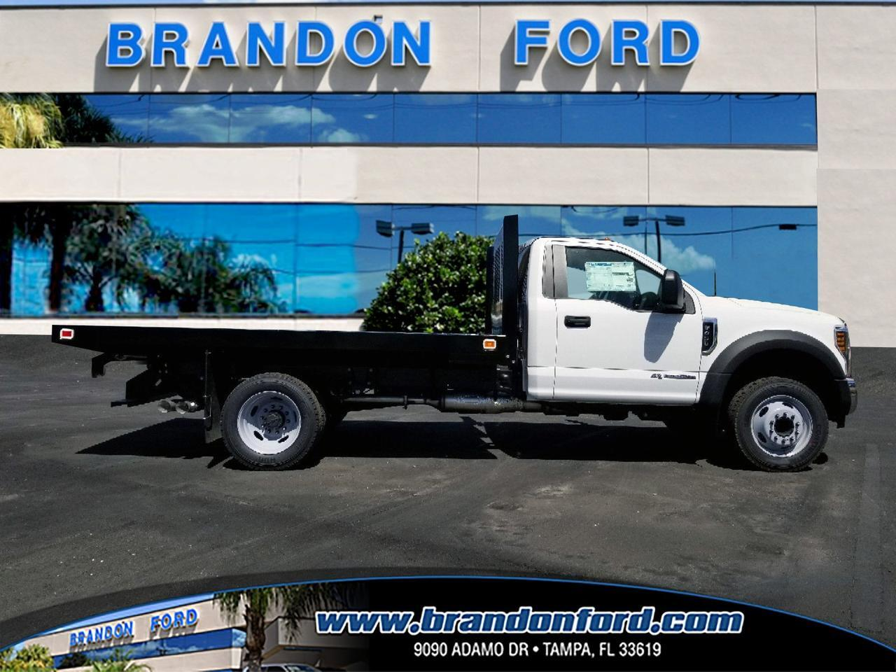 Lifted 2017 Ford Explorer >> 2018 Ford Super Duty F-450 DRW XL 12 Foot Flatbed Tampa FL 23306378