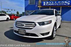 2018_Ford_Taurus_Limited / AWD / Heated & Ventilated Leather Seats / Heated Steering Wheel / Navigation / Sunroof / Sony Speakers / Auto Start / Microsoft Sync Bluetooth / Back Up Camera / Blind Spot Alert / Keyless Start & Entry / Only 4k Miles / 1-Owner_ Anchorage AK