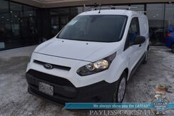 2018_Ford_Transit Connect Van_XL / Automatic / Bluetooth / Back Up Camera / Dual Sliding Doors / Shelving Units / Luggage Rack / Cruise Control / Block Heater / 27 MPG / Only 6k Miles / 1-Owner_ Anchorage AK