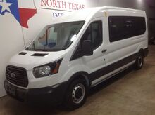 2018_Ford_Transit Passenger Wagon_FREE DELIVERY XLT 15 Passenger Van 3.7 V6 Keyless Bluetooth Rear AC_ Mansfield TX