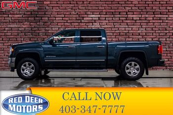 2018_GMC_Sierra 1500_4x4 Crew Cab SLT Leather BCam_ Red Deer AB
