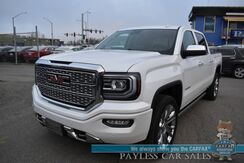 2018_GMC_Sierra 1500_Denali / 4X4 / Heated Leather Seats & Steering Wheel / Navigation / Sunroof / Bose Speakers / Auto Start / Tonneau Cover / Power Running Boards / Blind Spot & Lane Departure Alert / Tow Pkg / 1-Owner_ Anchorage AK