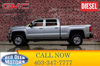2018_GMC_Sierra 2500HD_4x4 Crew Cab SLE Z71 Diesel Leather Nav_ Red Deer AB
