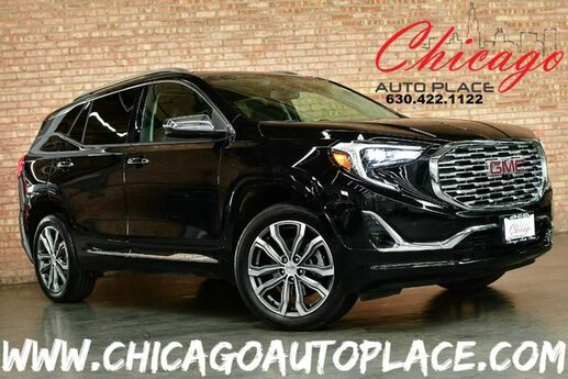 2018 GMC Terrain Denali - 2.0L TURBO 4-CYL VVT ENGINE 1 OWNER ALL WHEEL DRIVE NAVIGATION TOP VIEW CAMERAS KEYLESS GO BLACK LEATHER HEATED/COOLED SEATS BOSE AUDIO Bensenville IL