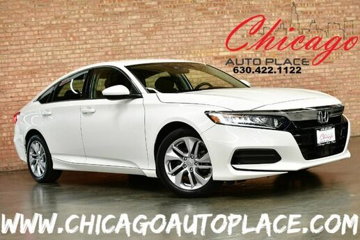 2018 Honda Accord Sedan LX 1.5T I-4 DOHC 16-Valve Turbocharged VTEC Engine MULTI-VIEW BACKUP CAMERA 1 OWNER BLUETOOTH LED HEADLAMPS KEYLESS GO Bensenville IL
