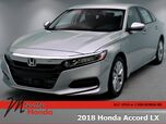 2018 Honda Accord Sedan LX