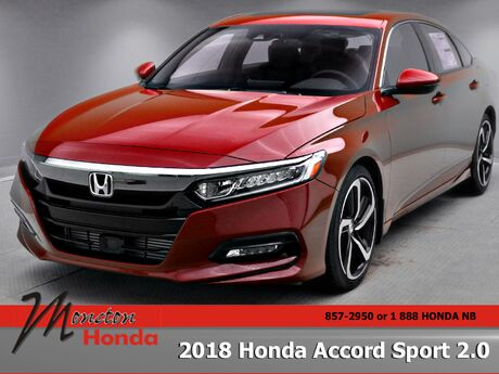 2018 Honda Accord Sedan Sport 2.0 Moncton NB