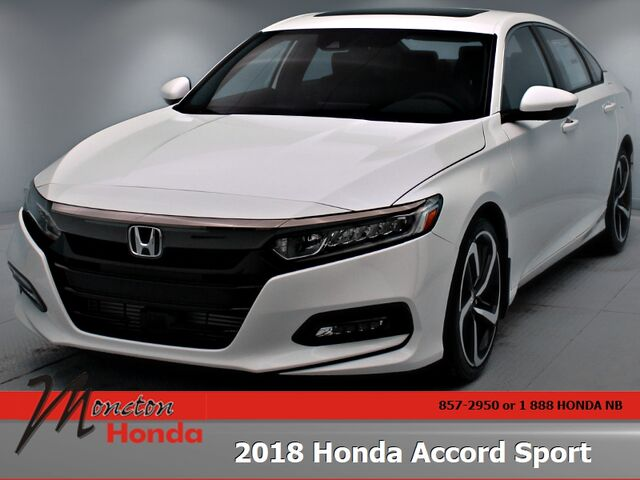 2018 Honda Accord Sedan Sport Moncton NB
