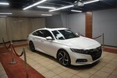 2018 Honda Accord Sport 2.0T 10A WITH RED ROSSO LEATHER INTERIOR