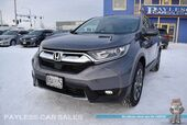 2018 Honda CR-V EX / AWD / Auto Start / Power & Heated Seats / Sunroof / Adaptive Cruise Control / Blind Spot & Lane Departure Alert / Forward Collision Alert / Bluetooth / Back Up Camera / Keyless Entry & Start / Tow Pkg / 1-Owner