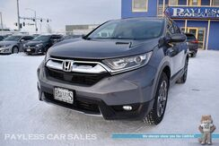 2018_Honda_CR-V_EX / AWD / Auto Start / Power & Heated Seats / Sunroof / Adaptive Cruise Control / Blind Spot & Lane Departure Alert / Forward Collision Alert / Bluetooth / Back Up Camera / Keyless Entry & Start / Tow Pkg / 1-Owner_ Anchorage AK