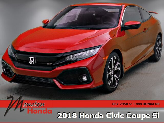 2018 Honda Civic Coupe Si Moncton NB