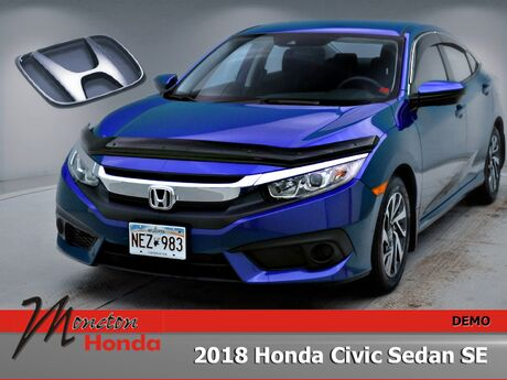 2018 Honda Civic Sedan SE Moncton NB