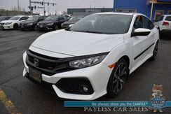 2018_Honda_Civic Si_/ 6-Spd Manual / Auto Start / Heated Seats / Sunroof / Bluetooth / Back Up Camera / 38 MPG_ Anchorage AK
