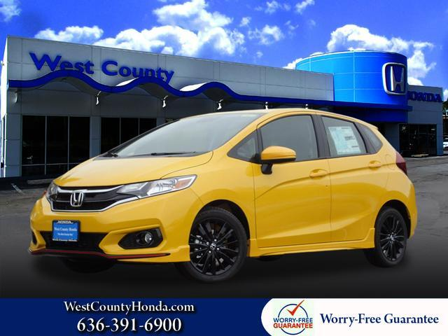 2018 Honda Fit Sport West County Mo 20733556