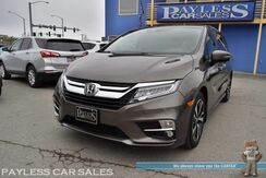 2018_Honda_Odyssey_Elite / Heated & Cooled Leather Seats / Heated Steering Wheel / Navigation / Sunroof / Rear DVD / Adaptive Cruise Control / Auto Start / 3rd Row / Seats 8 / Blind Spot Assist / Tow Pkg / 1-Owner_ Anchorage AK