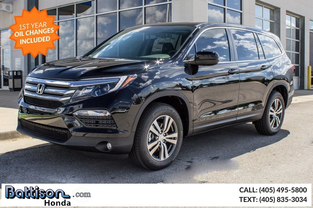 2018 Honda Pilot Ex L W Rear Entertainment System Oklahoma