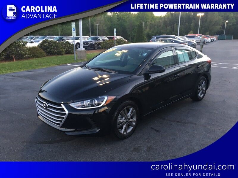 Vehicle Details 2018 Hyundai Elantra At Carolina Of High Point Kia