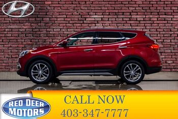 2018_Hyundai_Santa Fe Sport_AWD Limited Leather Roof Nav_ Red Deer AB
