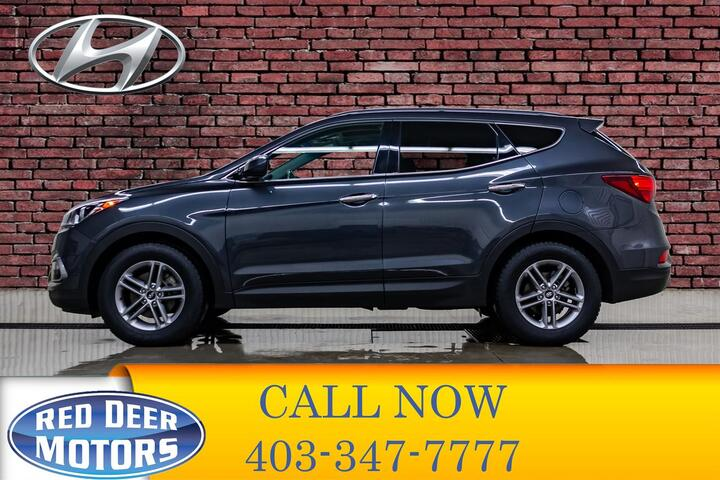 2018 Hyundai Santa Fe Sport AWD Premium Leather Roof BCam Red Deer AB