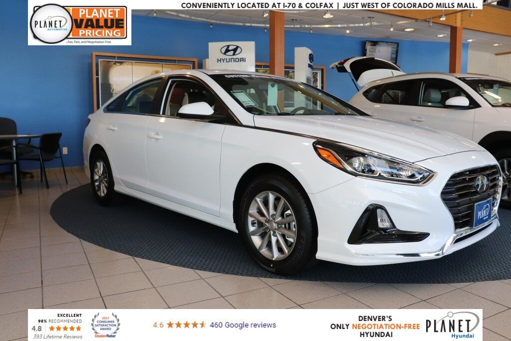 2018 Hyundai Sonata Se Golden Co 20808910