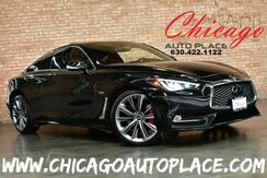 2018_INFINITI_Q60_AWD RED SPORT 400 - HIGH OUTPUT 3.0L V6 TWIN-TURBO ENGINE ALL WHEEL DRIVE NAVIGATION TOP VIEW CAMERAS KEYLESS GO BOSE AUDIO SUNROOF XENONS_ Bensenville IL