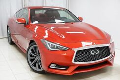 2018_INFINITI_Q60_RED SPORT 400 Pro Active Sensory Package Sunroof Navigation 360 Camera 1 Owner_ Avenel NJ