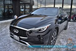 2018_INFINITI_QX30_Luxury / AWD / Heated Leather Seats / Keyless Start / Bluetooth / Back Up Camera / Cruise Control / 30 MPG_ Anchorage AK