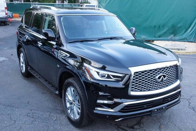 2018 INFINITI QX80 AWD Deluxe Navigation Running Boards 360 Camera 1 Owner Avenel NJ