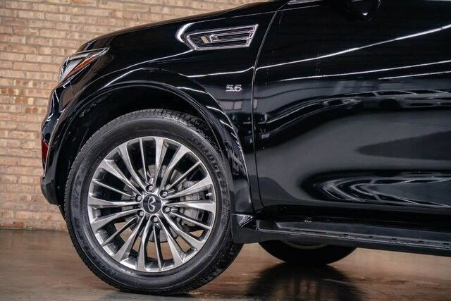 2018 INFINITI QX80-AWD LUXURY-$84435 Window Sticker..... Bensenville IL