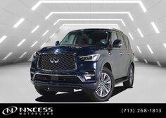INFINITI QX80 Luxury Navigation Roof Leather Warranty. 2018
