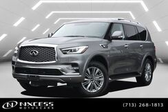 2018_INFINITI_QX80_Navigation Roof Leather Like New Factory Warranty._ Houston TX