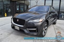 2018_Jaguar_F-PACE_20d R-Sport / AWD / Turbo Diesel / Heated & Cooled Leather Seats / Heated Steering Wheel / Lane Departure & Blind Spot Alert / HUD / Navigation / Panoramic Sunroof / Meridian Speakers / Bluetooth / 33 MPG_ Anchorage AK