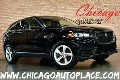 2018_Jaguar_F-PACE_30t Premium - 2.0L I4 TURBOCHARGED 296HP ENGINE 1 OWNER ALL WHEEL DRIVE NAVIGATION BACKUP CAMERA PANO ROOF KEYLESS GO BLACK LEATHER HEATED SEATS_ Bensenville IL