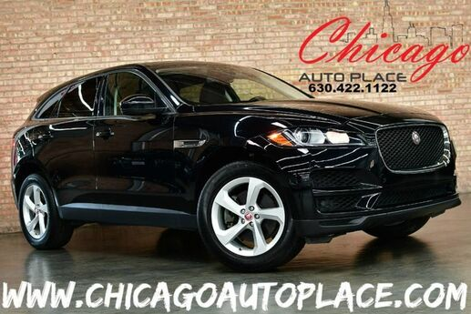 2018 Jaguar F-PACE 30t Premium - 2.0L I4 TURBOCHARGED 296HP ENGINE 1 OWNER ALL WHEEL DRIVE NAVIGATION BACKUP CAMERA PANO ROOF KEYLESS GO BLACK LEATHER HEATED SEATS Bensenville IL