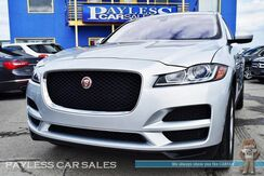 2018_Jaguar_F-PACE_30t Premium / AWD / Turbocharged / Power Leather Seats / Navigation / Panoramic Sunroof / Meridian Speakers / Bluetooth / Back Up Camera / Keyless Entry & Start / Power Liftgate / 27 MPG / 1-Owner_ Anchorage AK