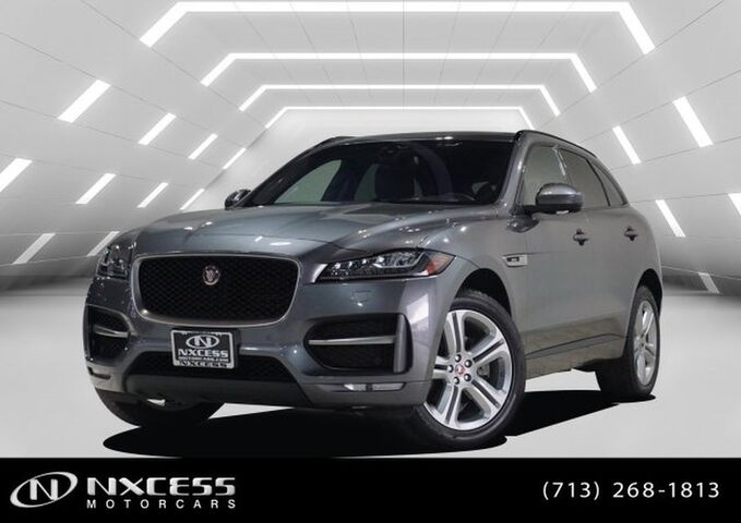 2018 Jaguar F-PACE 35t R-Sport AWD V6 Supercharged Navigation, Heads Up Display and more.. Houston TX