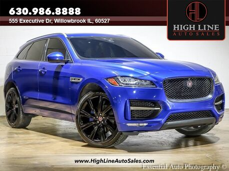 2018_Jaguar_F-PACE_35t R-Sport_ Willowbrook IL