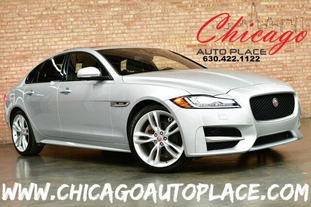 2018 Jaguar XF 20d R Sport AWD - 2.0L I4 TURBOCHARGED DIESEL ENGINE ALL WHEEL DRIVE NAVIGATION BACKUP CAMERA KEYLESS GO BLACK LEATHER HEATED SEATS SUNROOF Bensenville IL