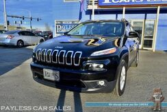 2018_Jeep_Cherokee_Latitude Plus / 4WD / Auto Start / Power & Heated Leather Seats / Heated Steering Wheel / Bluetooth / Back Up Camera / Power LIftgate / Keyless Entry & Start / 28 MPG / 1-Owner_ Anchorage AK