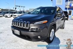 2018_Jeep_Cherokee_Latitude Plus / 4X4 / 3.2L V6 / Power & Heated Seats / Heated Steering Wheel / Auto Start / Bluetooth / Back Up Camera / Keyless Entry & Start / Power Lift Gate / 1-Owner_ Anchorage AK