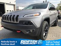 Jeep Cherokee Trailhawk L Plus 4x4 / 3.2L Pentastar VVT V6 / Pwr Liftgate / Park Assist 2018