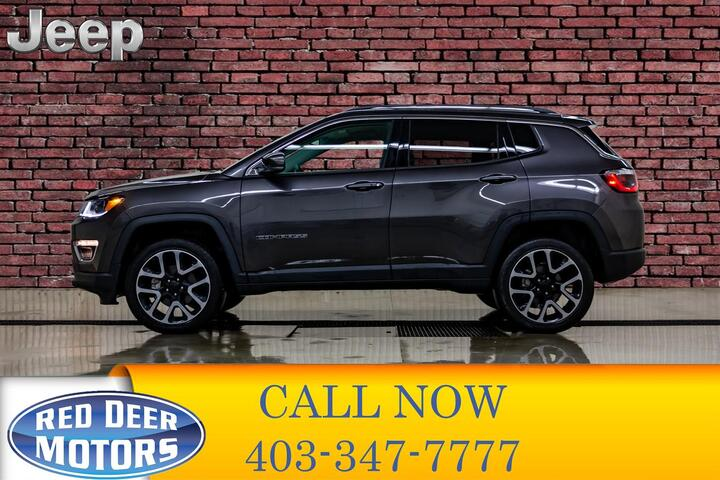 2018 Jeep Compass 4x4 Limited Leather Nav BCam Red Deer AB
