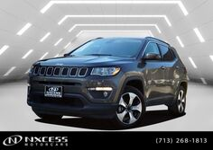 Jeep Compass Latitude 4x4 Only 3k Miles Factory Warranty. 2018